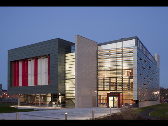 gallery for modern university buildings