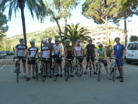 Kenilworth Wheels in Majorca preparing for the LbL