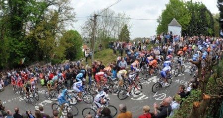 The Pro's on the cote de la redoute